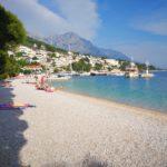 Plaża w Breli - Chorwacja