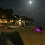 Brela nocą - Chorwacja