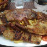 Posiłek w barze Most, mniam mniam...- Czarnogóra