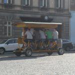 Piwny rowerobus - Ołomuniec Czechy