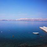 Widok z pokoju - Karlobag Chorwacja