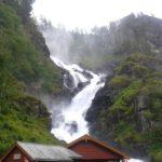 Wodospad Latefoss