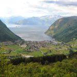Widok na miasteczko Vik
