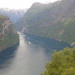 Widok na fiord Geiranger