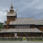 Stavkirke, jeden z wielu kościołów klepkowych