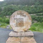 Pomnik pamięci w Muzeum Norweskiego Przemysłu Rjukan