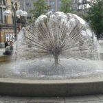 Jedna z fontann w Oslo