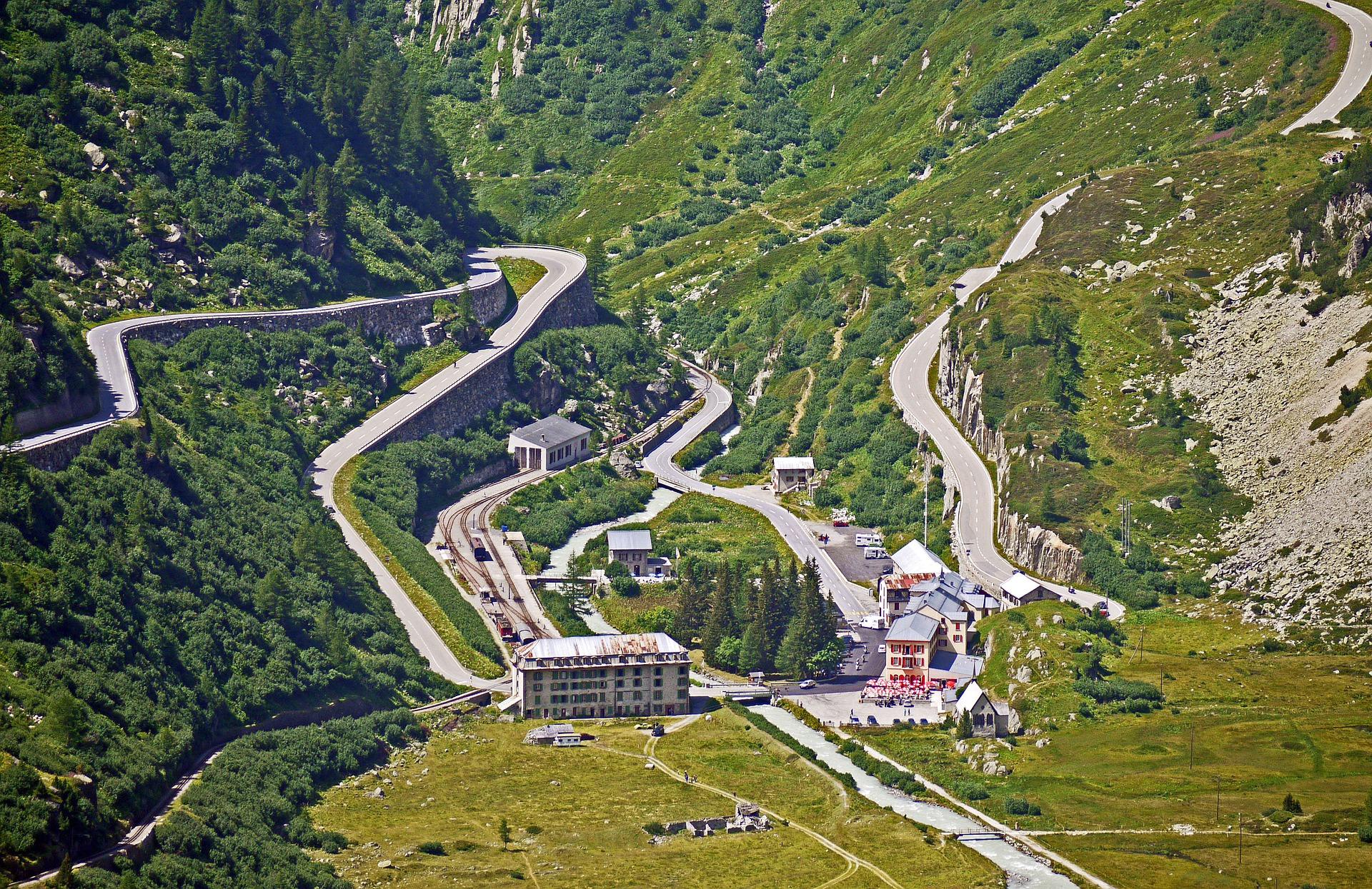 Furkapass - szwajcaria