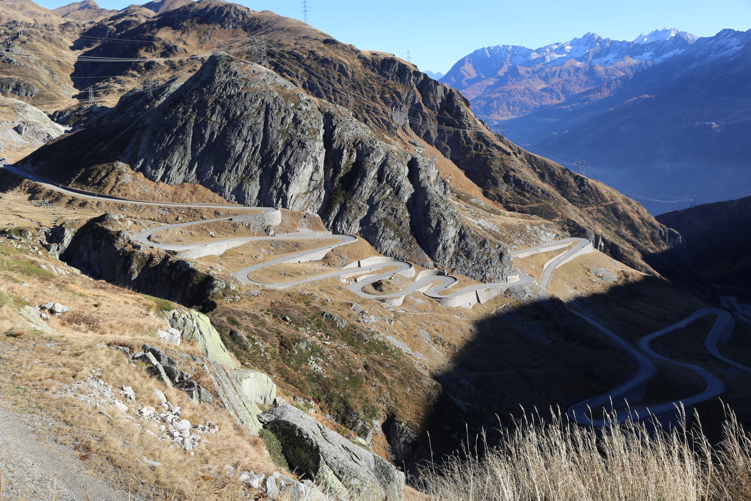 Passo del San Gottardo/Przełęcz Świętego Gotarda