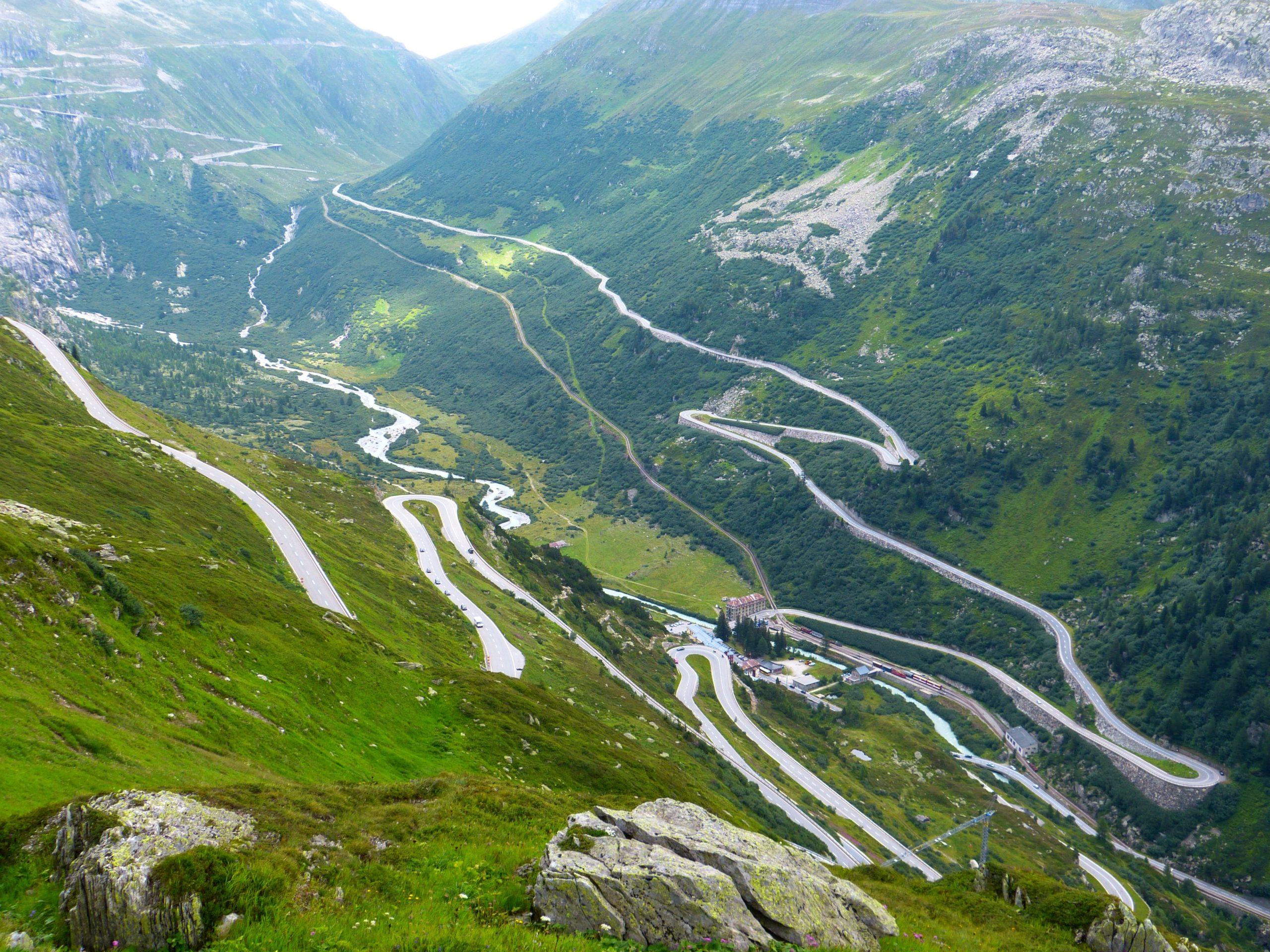 Przełęcz Grimsel, Szwajcaria