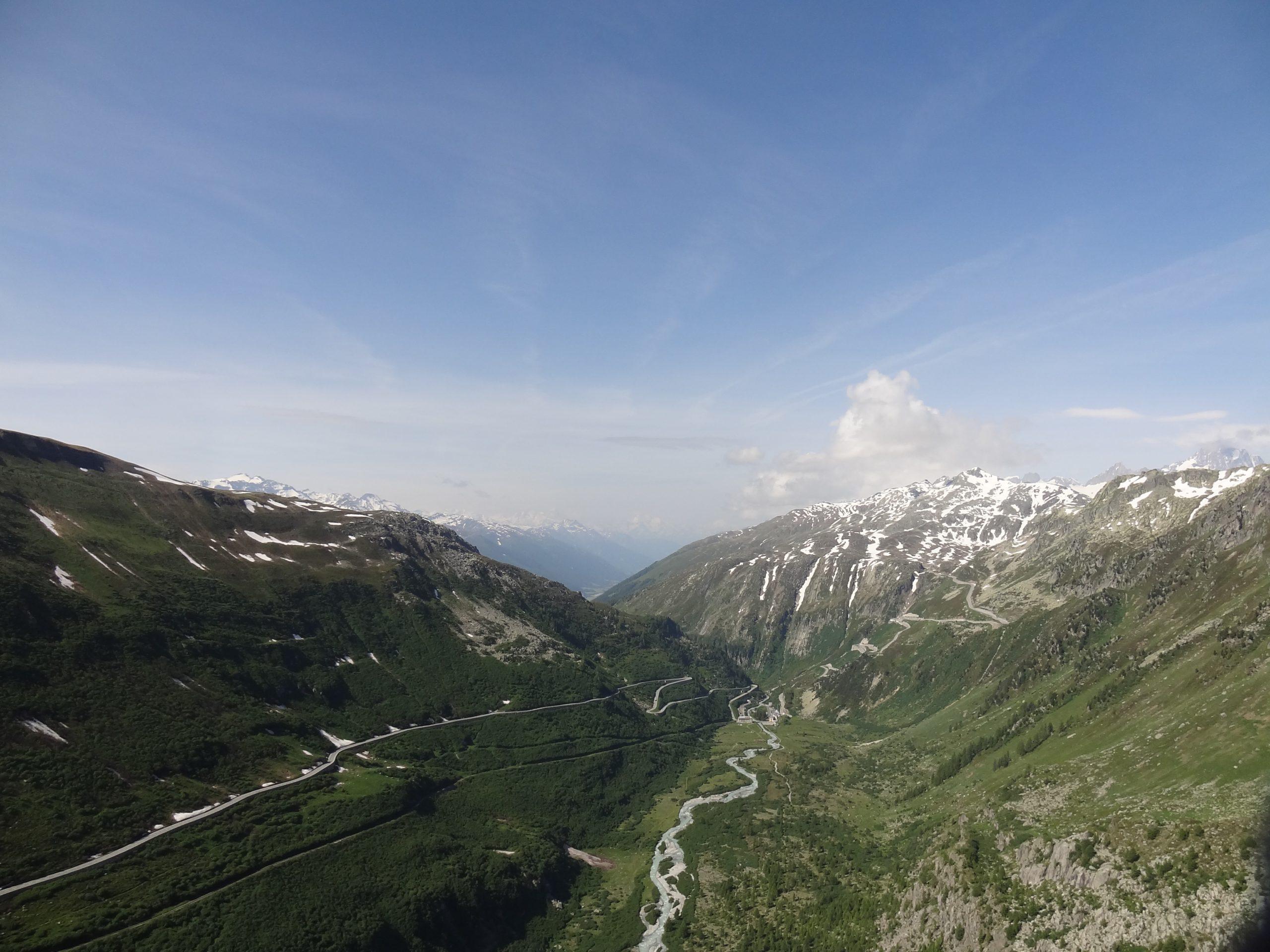 Przełecz Grimsel, Szwajcaria