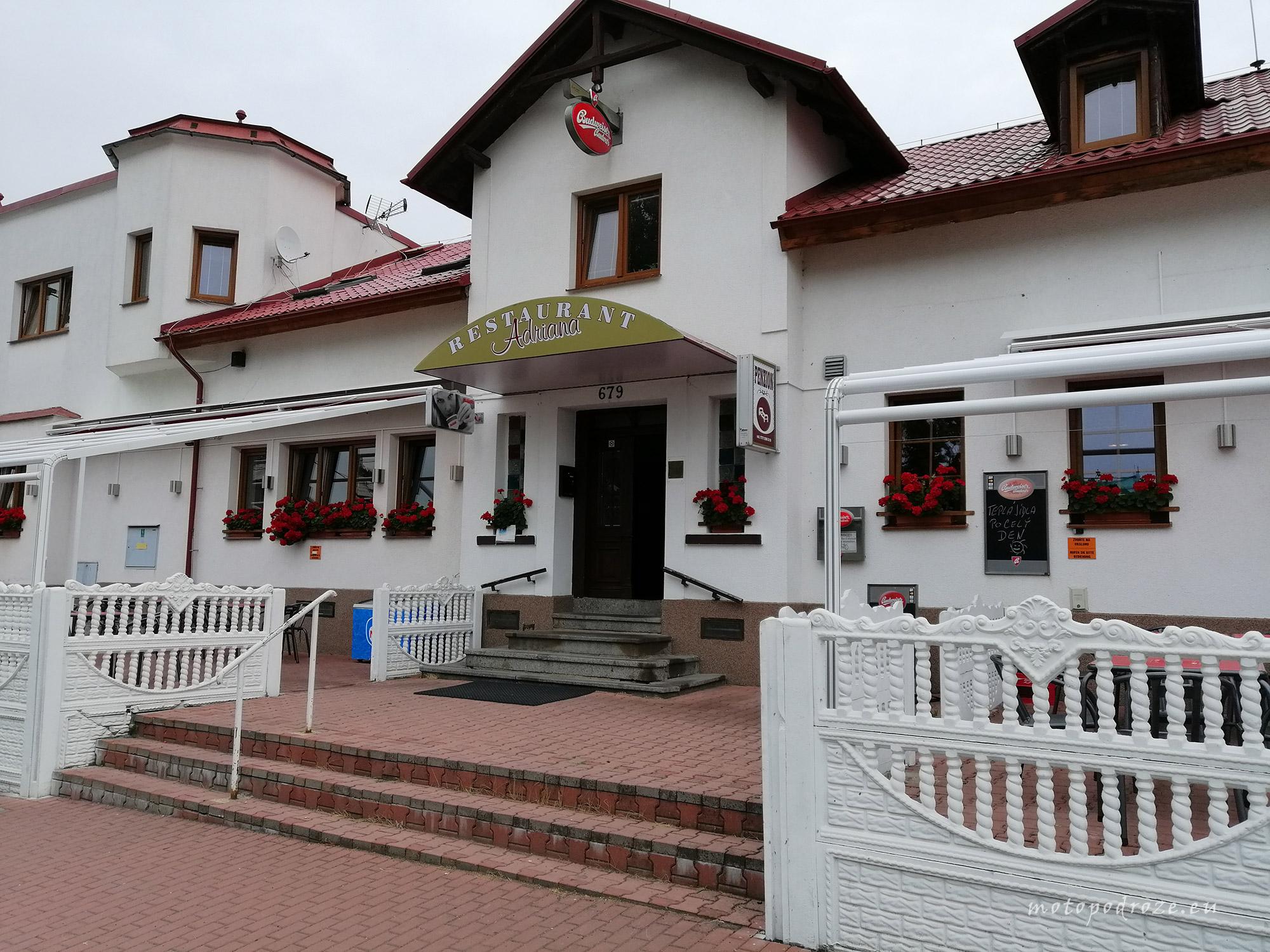 Pensjonat Adriana, Jiříkov