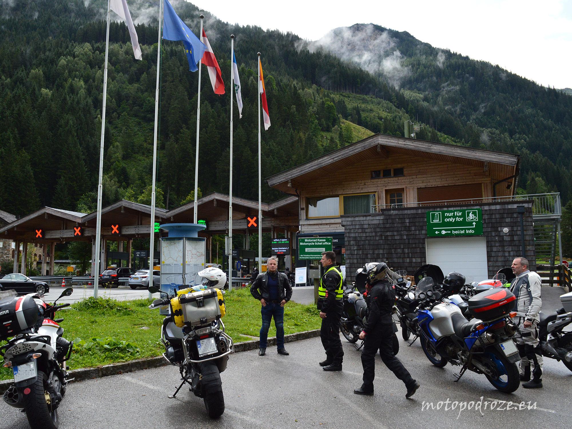 Wjazd na Grossglockner