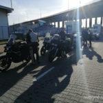Wjazd na terminal Gdynia